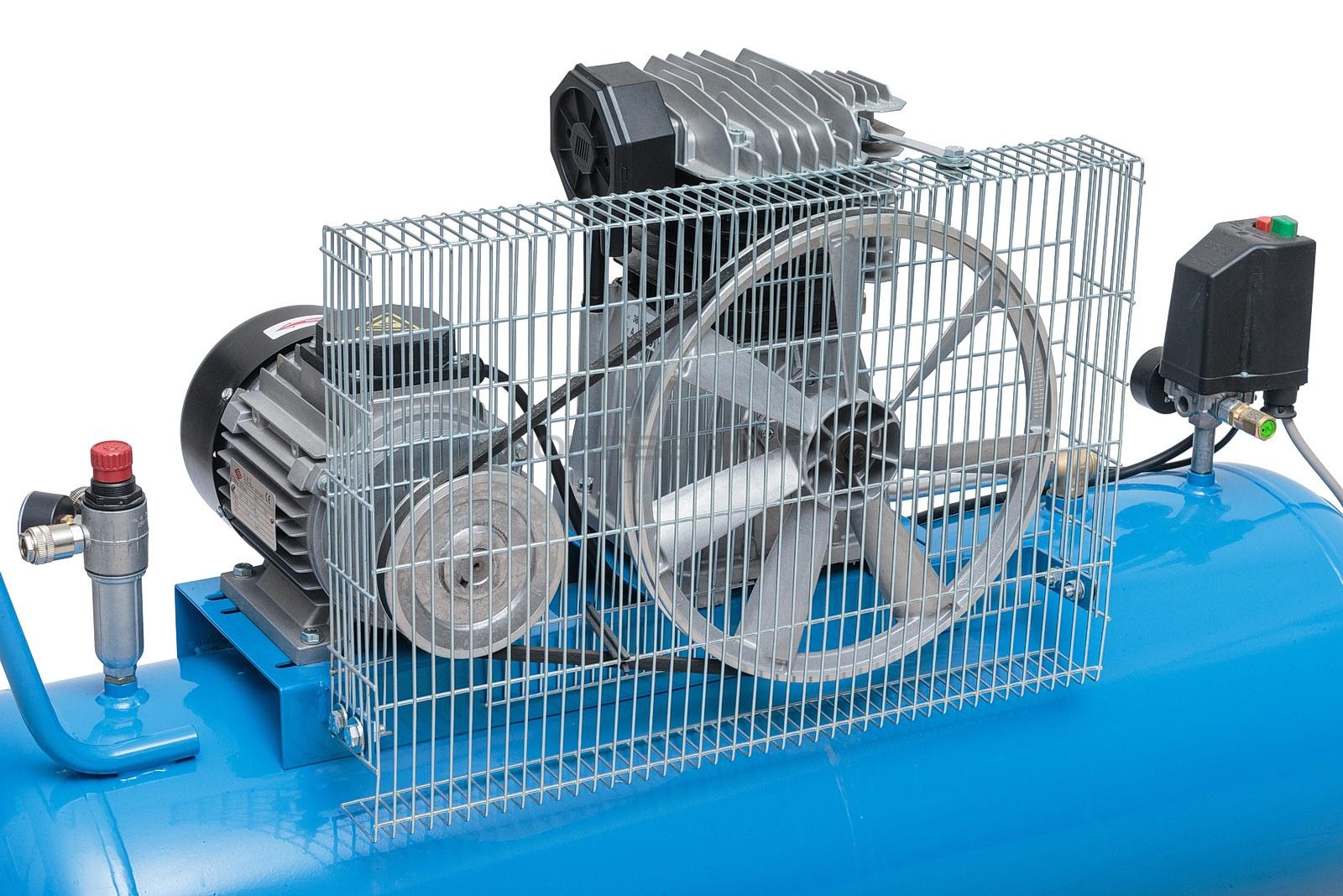 Воздушные компрессоры с ременным приводом